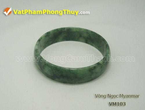 vong cam thach VM103 Vòng Cẩm Thạch Miến Điện (Ngọc Myanmar) thiên nhiên, tuyệt đẹp và giá trị hàng đầu