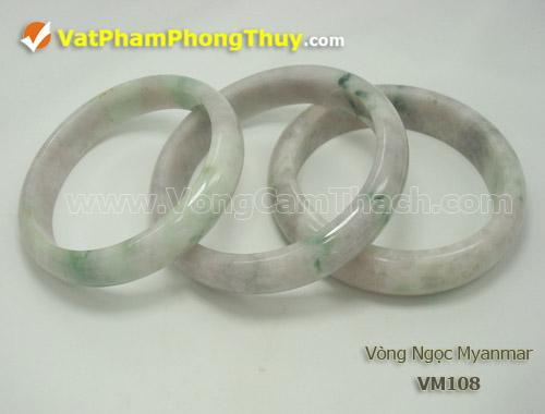 vong cam thach VM108 1 Vòng Cẩm Thạch Miến Điện (Ngọc Myanmar) thiên nhiên, tuyệt đẹp và giá trị hàng đầu