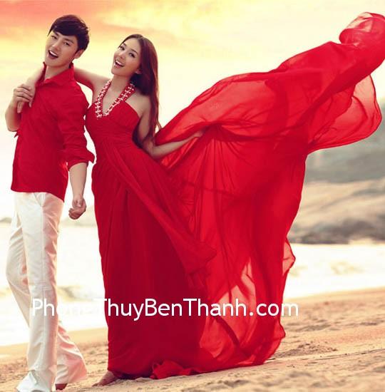 trang phuc mau do phong thuy Màu đỏ có hợp với bạn không?