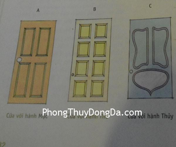 cac kieu cua Những kiểu thiết kế cửa