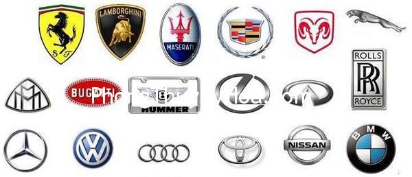 logo cac hang xe noi tieng Logo, bảng hiệu và phong thủy